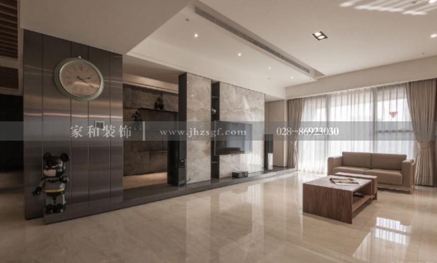 天鹅湖日式风格别墅270m²装修案例