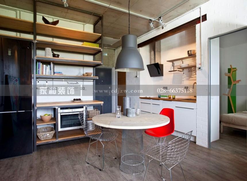 春天里后现代四居室123㎡装修案例