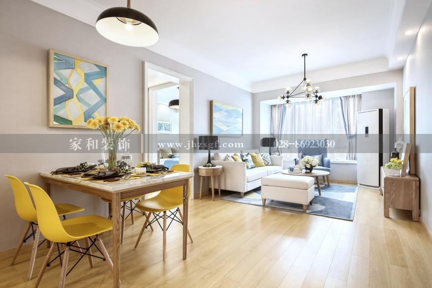 家和装饰蓝光coco蜜城120㎡装修照-成都装修