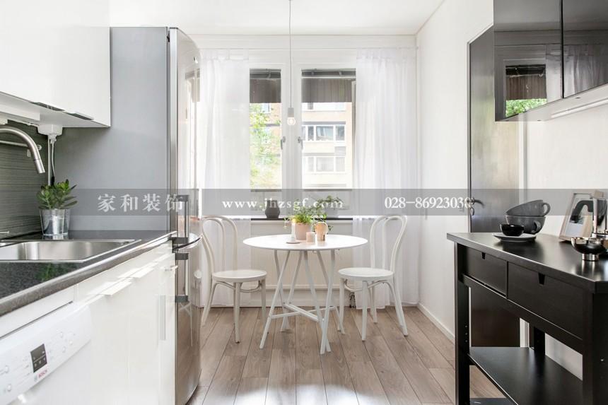 三和南庭北欧现代四居室152㎡万博app官方下载ios案例