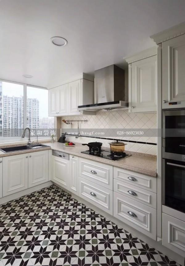 成都室内装修橱柜设计几大要素,快来挑选一款适合您家厨房的橱柜设