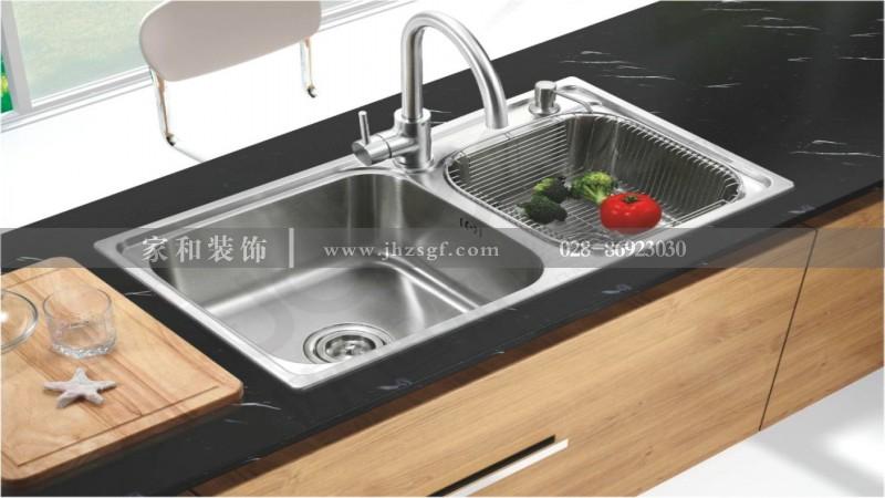 如何选择洗菜盆?成都家庭装修建议你先了解其优缺点