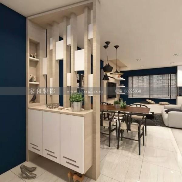 成都装修公司推荐:室内家庭装修6款屏风装修效果,居家实用又美观大气