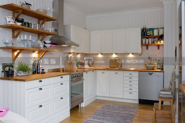 室内家装厨房收纳:学会了这些收纳方法,家里的厨房马上变得高大上