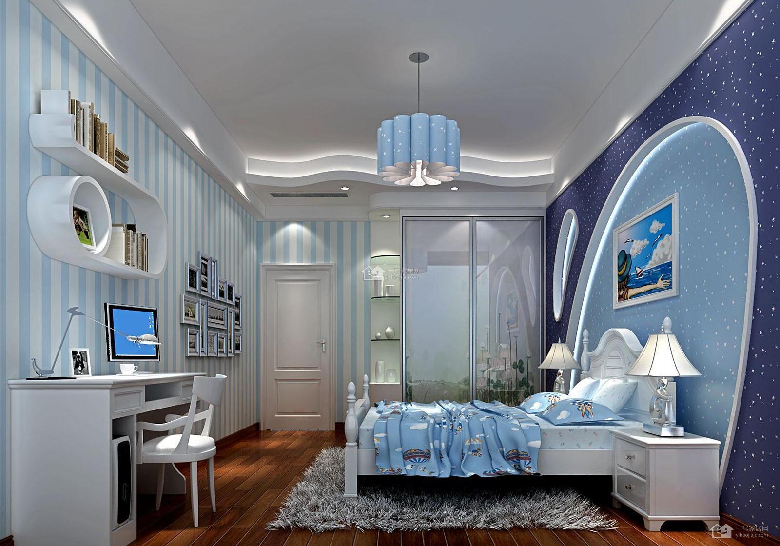 家和装饰告诉你儿童房是怎样装修的