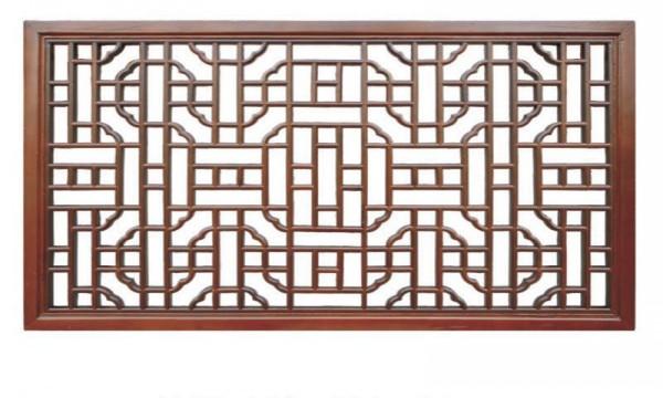 新中式来了,成都旧房改造小编为您讲解经典元素仿古花窗的讲究和审美