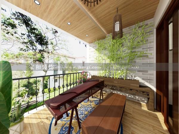 要想阳台地砖耐用又好看?选择这样的瓷砖绝不会错
