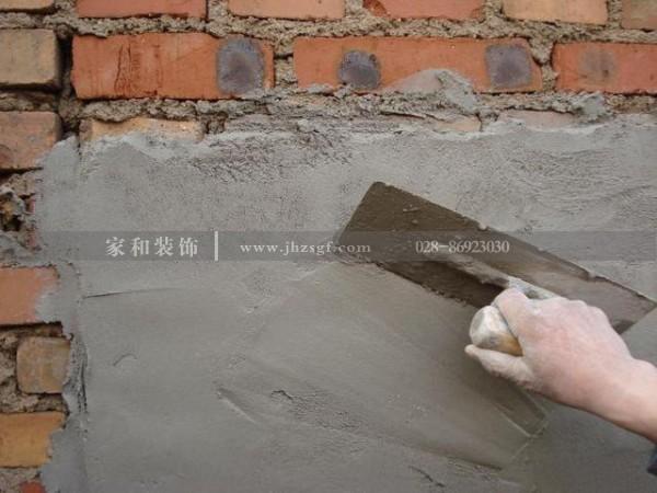 成都家庭装修墙面抹灰工程最常出现的问题以及预防办法