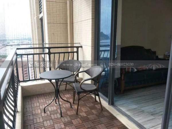 关于阳台砖要不要和客厅铺一样的这个争议,让成都装修公司来揭秘