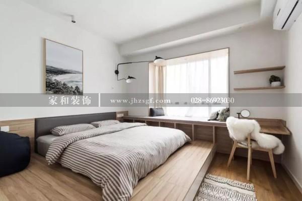 家和装饰提醒您不要床头柜的卧室还可以这样设计,10种方案任你选