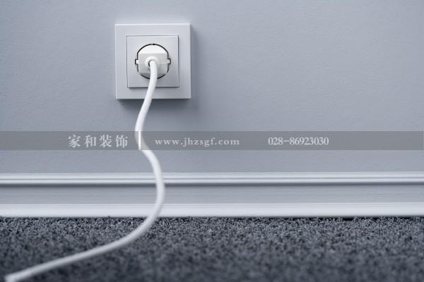 成都装饰公司总结开关 插座安装时的具备条件,真的很实用~