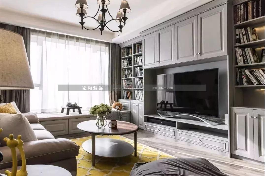 现代美式风格的电视墙怎么设计才好看?亚洲城官网游戏推荐了这些方案