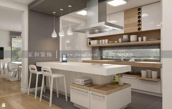 成都装修公司推荐这样搭配厨房的灯具,让你实现精致舒适的生活环境
