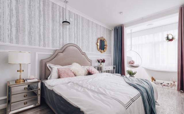85㎡老房改造!纯白简美风格,卧室带浴缸,一个人的低调奢华~