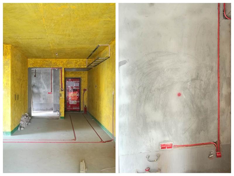 千禧河畔工地——电路安装