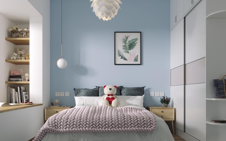 家和案例|81㎡老房改造北欧风格时尚小居