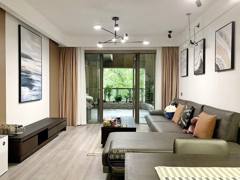 成都南湖国际89平米现代简约两居