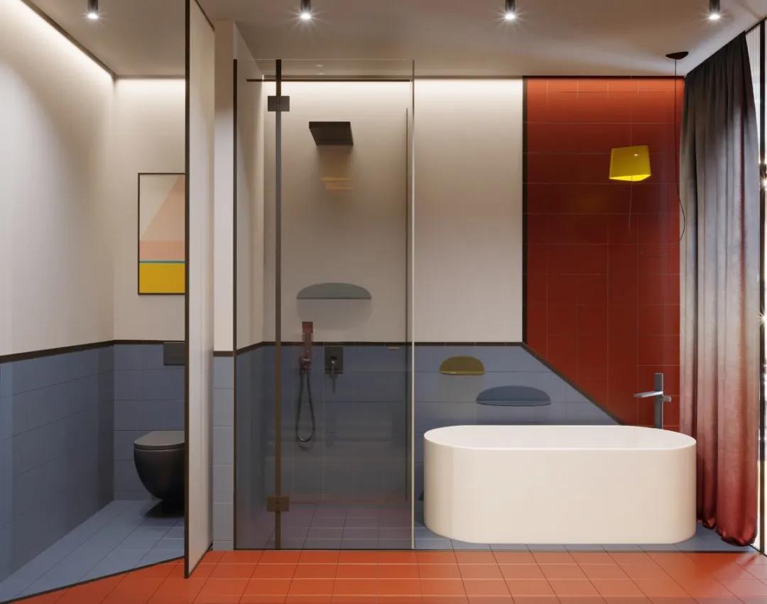 卫生间干湿分离怎么做才能好看又实用?