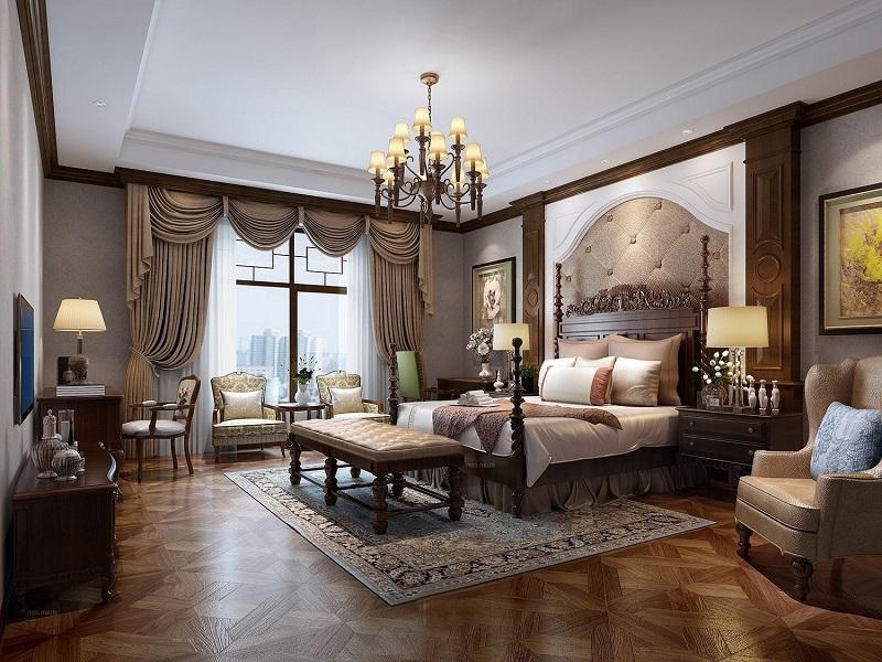 370㎡的古典欧式,品味优雅和奢华的别样风情!