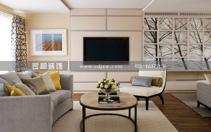 南湖国际美式三居89㎡装修案列