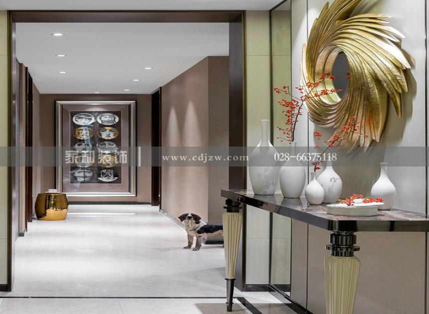 西锦国际现代奢华两居78㎡装修案例