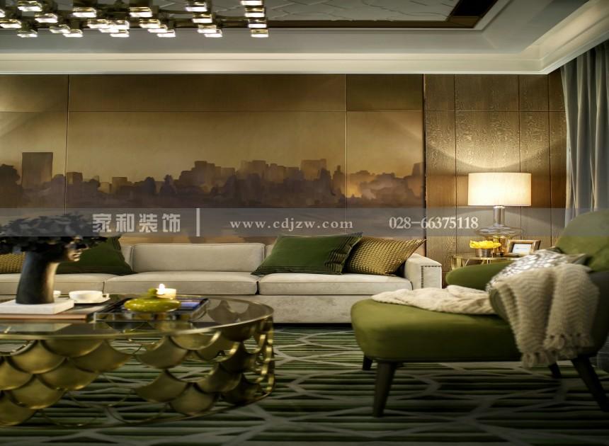 东原城现代奢三居110㎡装修案例