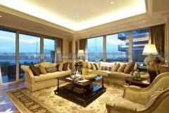 南湖世纪欧式风格260㎡五居室装修案例