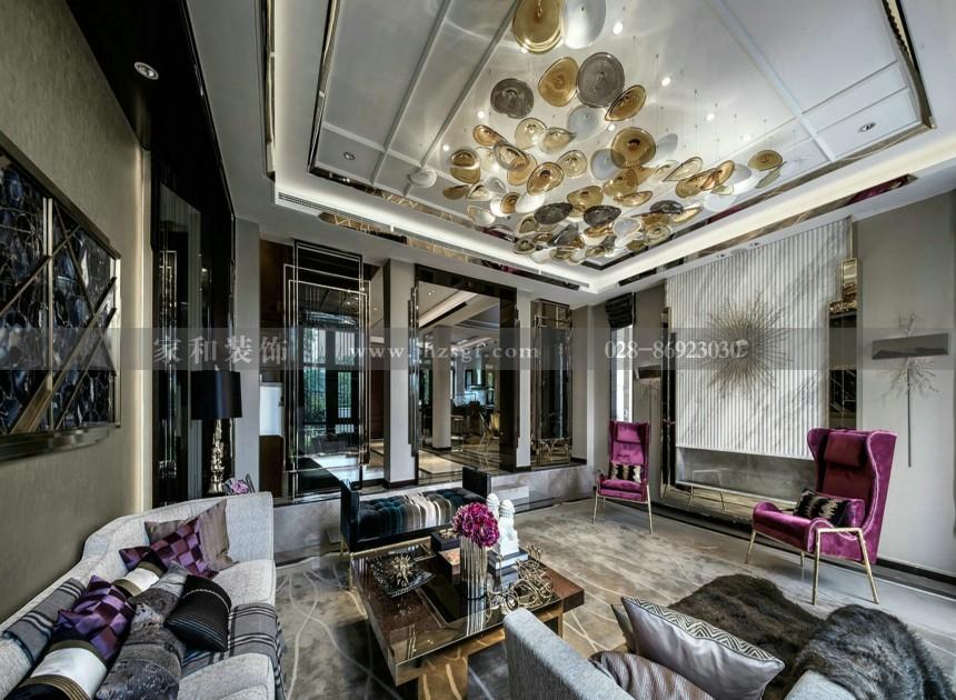阳光威尼斯新古典风格三居98㎡装修案例