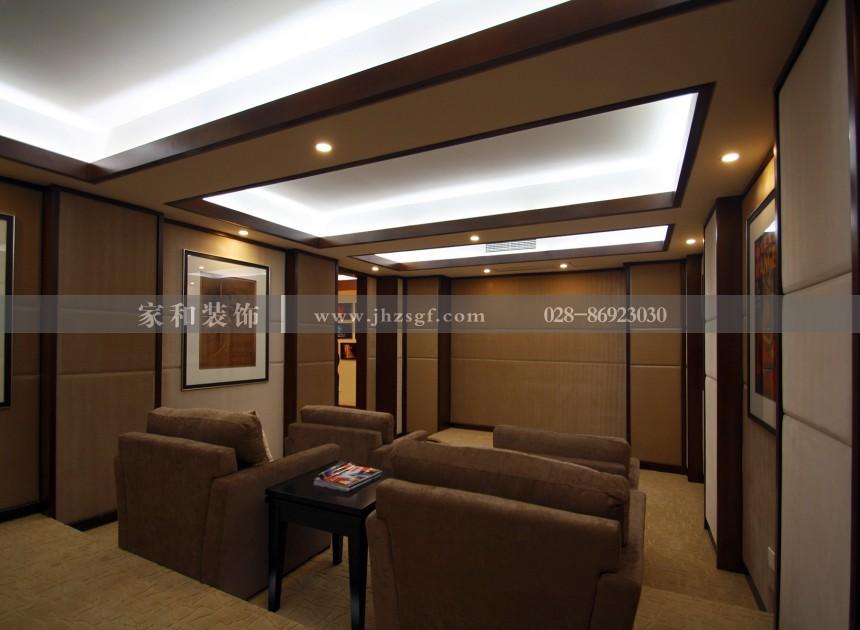 泰和家园新中式四居220㎡装修案例