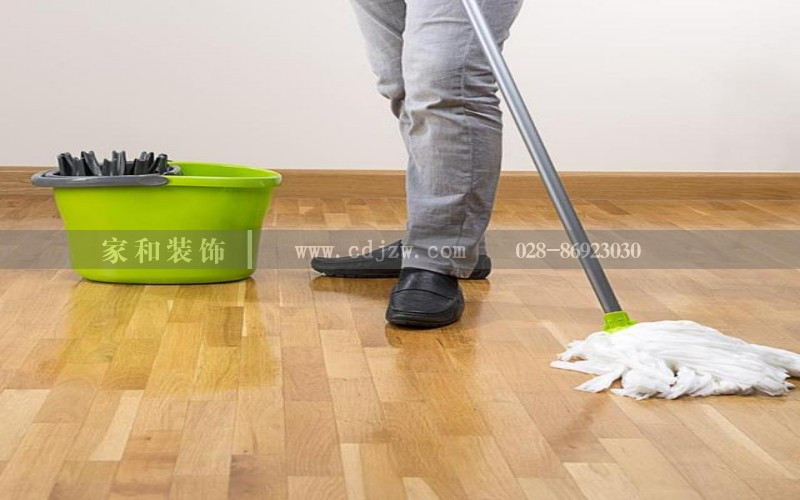 地板天天拖还是脏成都装修告诉你一个小妙诀轻松解决地板脏