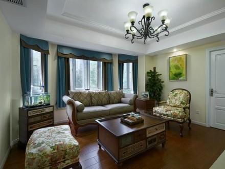成都装修公司报价160平雅致美式休闲新家花了40万装修档次就是不一样