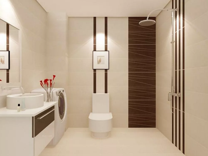 成都装修公司前十强推荐装修小常识,卫生间瓷砖颜色如何搭配出美感