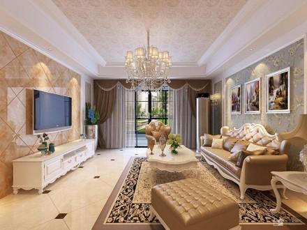 成都装修公司报价130㎡优雅欧式新家花了35万,我被酷酷的玄关征服了