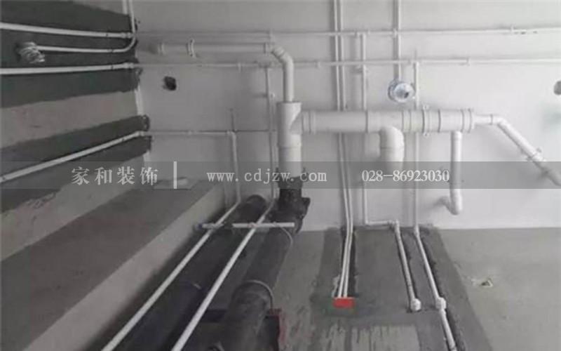 成都装修公司报价水电改造中是明管好还是暗管好水管改造要多少钱