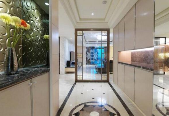 成都装修公司排名家庭装修玄关这样设计让你家变得美轮美奂