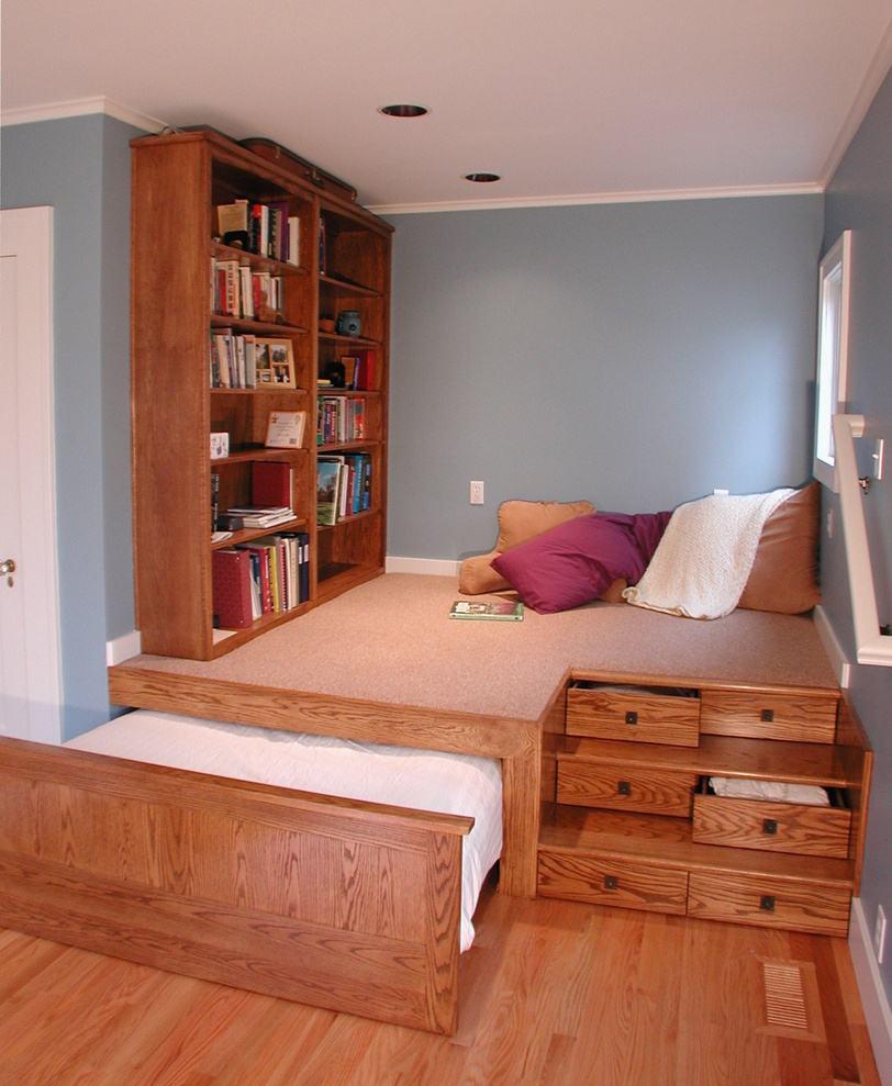 这些储物床又美又实用,创意收纳,家里不再乱!