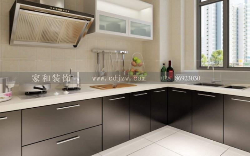 成都装修公司哪家好小户型的厨房也能装修的高大尚