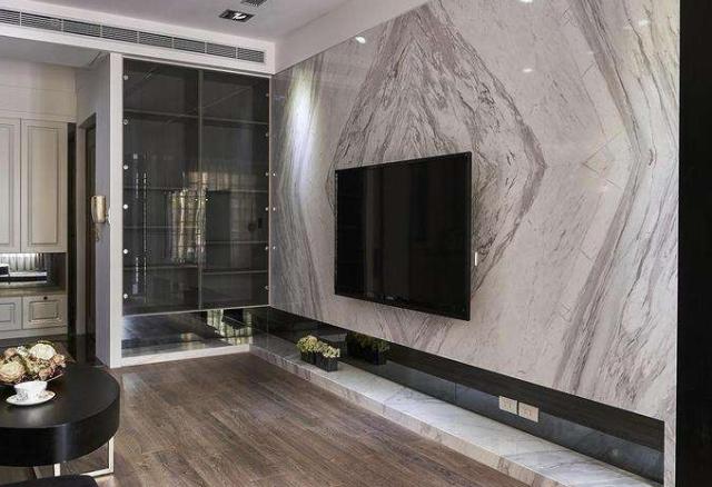 成都装修设计公司好的电视背景墙才能衬托起客厅的美