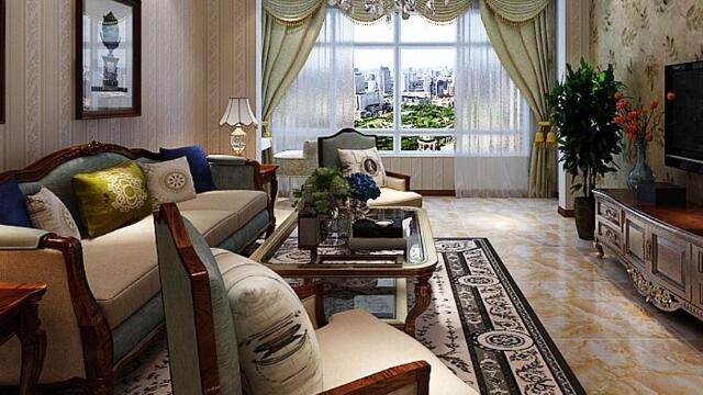 成都装修公司推荐别墅的会客厅装修设计方案怎么能少了独立会客厅