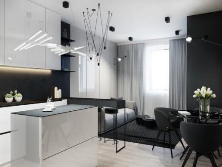 时尚酷感的黑白灰现代风格成都装饰教你如何用颜色做设计