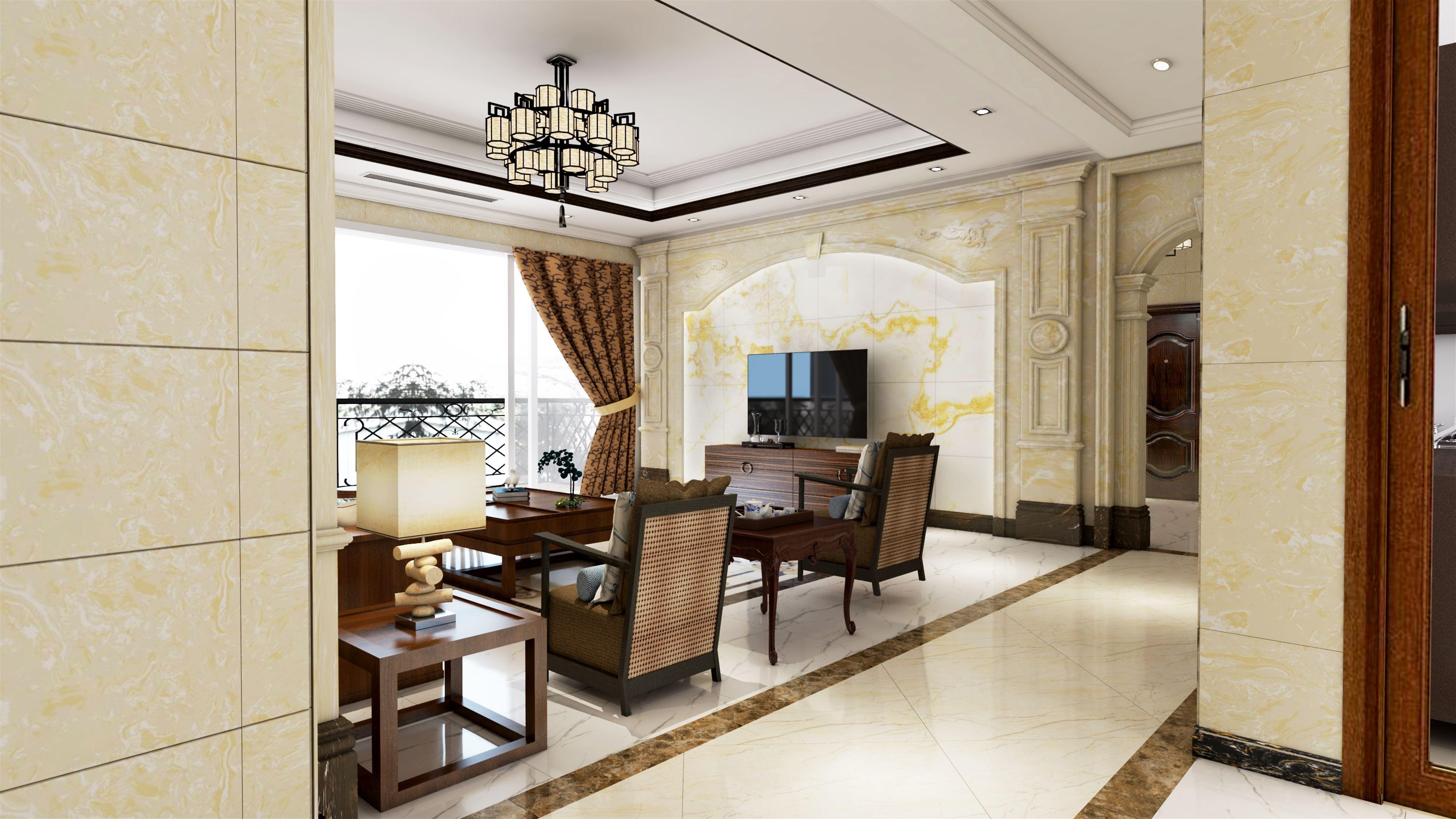 成都装饰设计公司新房装修全屋贴瓷砖好不好看看刘先生家的抱怨你就知道了