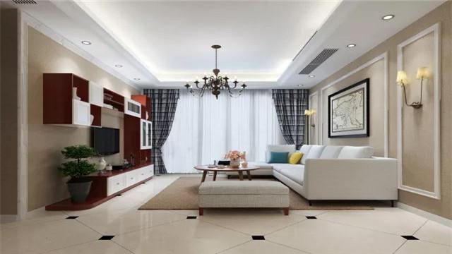 成都二手房装修客厅是我们家里的门面你觉得这样的客厅上档次吗