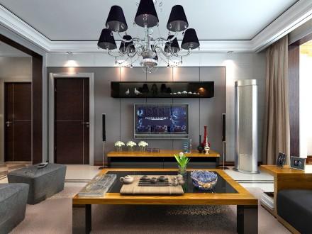 成都装饰公司给你舒适温馨的生活看现代简约风格客厅灯具如何装修更完美