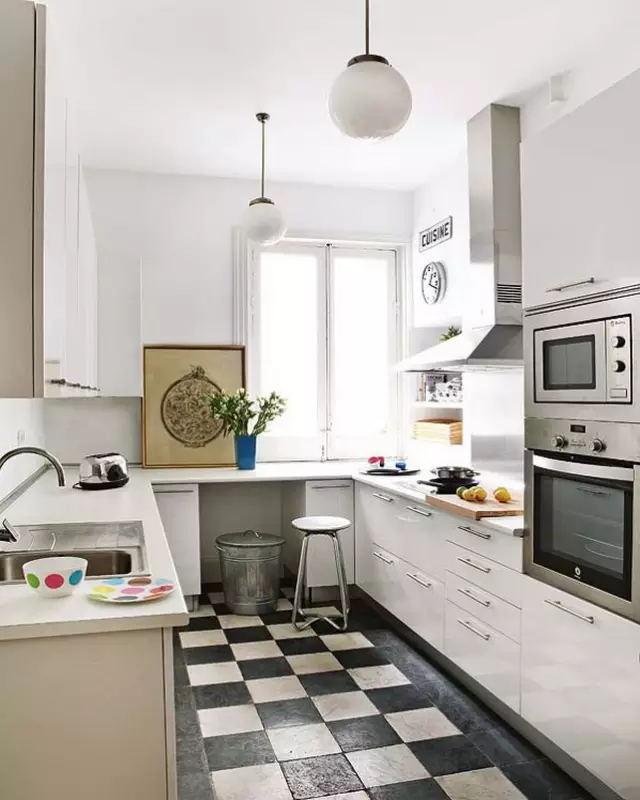 成都家装公司这些简单的设计却让小户型的厨房多出了5平米