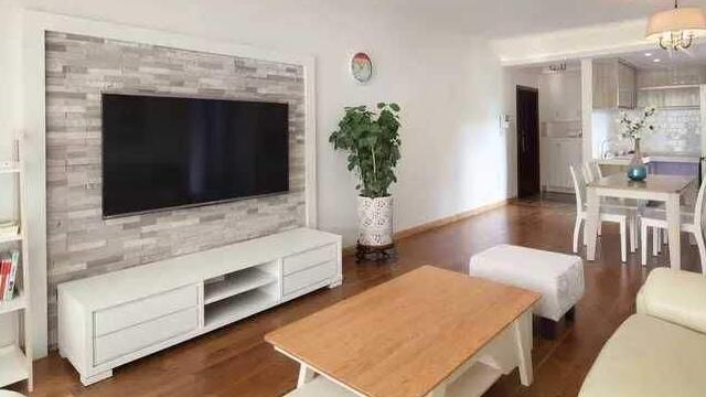 成都装饰装修电视背景墙这样设计让你一回到家就有打开电视机的冲动