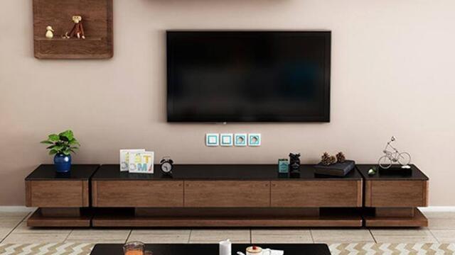成都装修公司推荐看了这几款电视柜会让你怀疑你对电视柜的认知