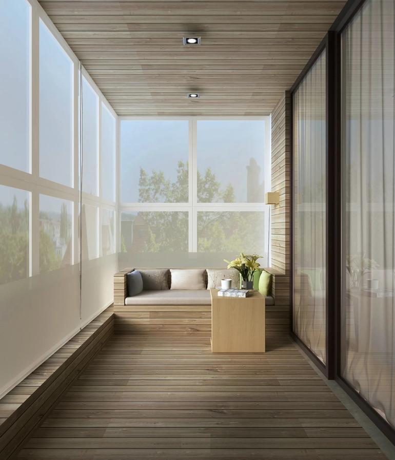 成都室内设计想要把阳台装修成美丽得板房一样把这些