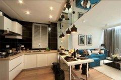 开放式厨房装修设计怎么样-家和装饰