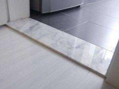 卫生间过门石怎么安装比较合理?卫生间过门石安装需要注意什么-家和装饰
