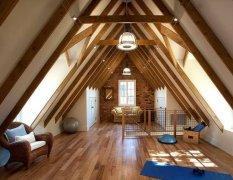 斜顶阁楼装修设计 斜顶阁楼装修注意事项-家和装饰